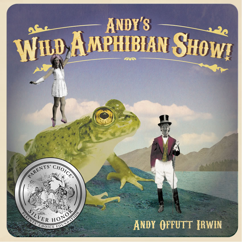 Andy's Wild Amphibian Show cd